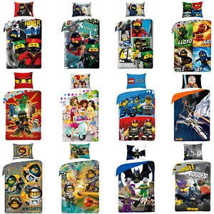 LEGO-NINJAGO-CITY-SUPER-HEROES-NEXO-KNIGHTS-Friends-Star-Wars-Kinderbettwaesche