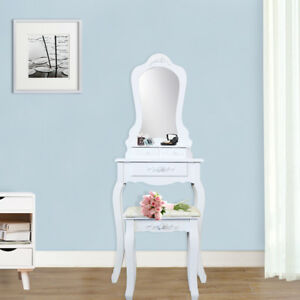Image Is Loading 3 Drawer Vanity Table Set Dressing With