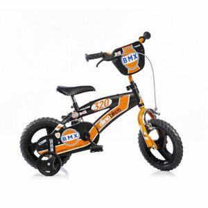 BICI-12-034-BMX-NERO-ARANCIO