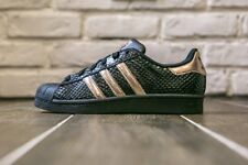 89f194a69 Adidas Originals Superstar ROSE GOLD Bronze Copper Black Snake Women s 8.5  Shoes
