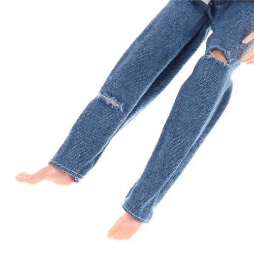 Clothes for  Boyfriend Dolls T-shirt /& Ripped Jeans Pants Trouser LE