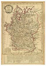 Russia Moscow Belarus Minsk Ukraine Kiev map Lattre Delamarche ca.1800