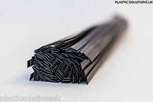 10pcs ASA Black  Plastic Welding Rods 10mm flat