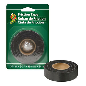"Shurtech brands Duck Brand 393150  3/4"" x 30' Friction Electrical Tape"