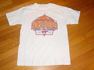 VT VIRGINIA TECH HOKIES HOOPS  BASKETBALL  Rockin t Cassell  T-Shirt .   MEDIUM