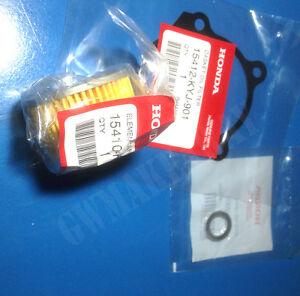 Honda Cbr250 Cbr300 CB300 Element Oil Filter Gasket Washer OEM 15412-KYJ-901