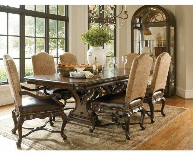 Thomasville Hills Of Tuscany Bibbiano Dining Table Chairs Sideboard Euc For Sale Online Ebay