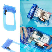 UnderWater Blue Waterproof Dry Pouch Bag Case Cover for All Cell Phone Camera