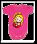 Girl Bodysuits Babygrow Playsuit Cotton 0010 0-24 months Superwoman Supergirl