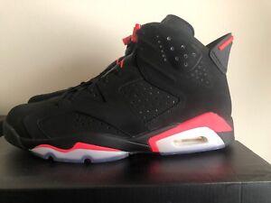 ded06582d6ad7b New DS Nike Air Jordan 6 VI BLACK INFRARED 384664-023 3M Size 13