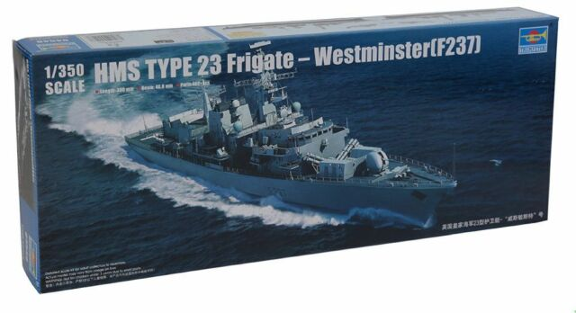 HMS type 23 frégate Westminster F237 1/350 Trumpeter