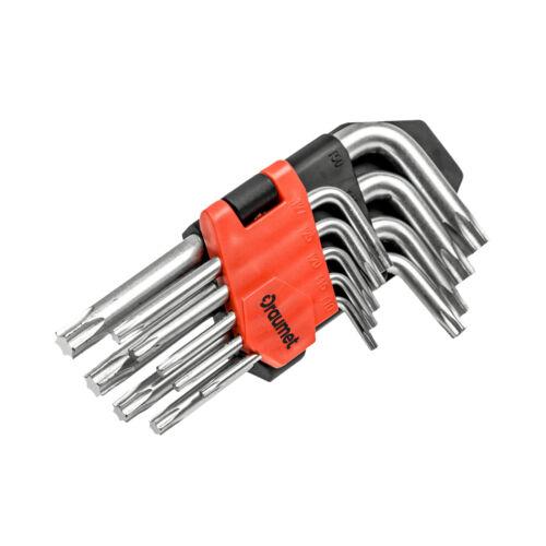 CrV acier Angle Clé t10-t50 Intérieur Torx clés Jeu Set 9 PCS