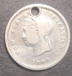 New-Zealand-1882-Exhibition-Silver-Medallion