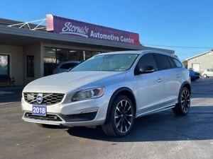 2018 Volvo V60 Cross Country Premier LEATHER/ROOF/NAV/BACKUP CAM CALL PICTON