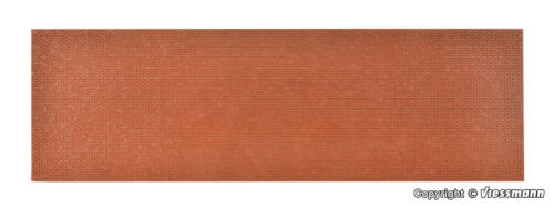 Vollmer 0   48722  Mauerplatte Ziegel 54 x 16,3 cm  NEU//OVP
