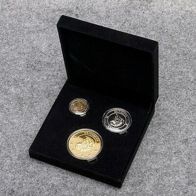 Harry Potter Gringotts Bank  Coin Collection 1 Galleon,1 Sickle,1 Knut Two-Sided