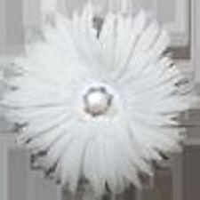 wholesale lot 12 GERBER DAISY flower crafts HAIR tutu FLIP FLOPs bouquet WHITE