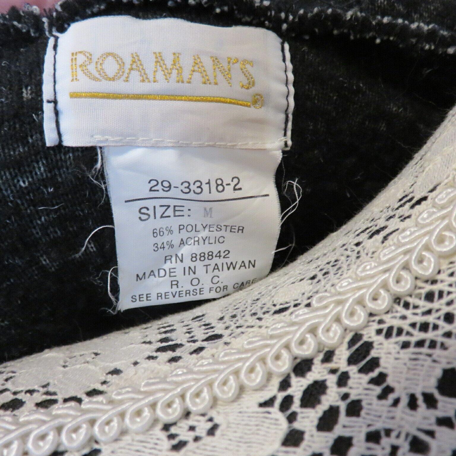 Roaman's M Fleecy Hooded Pockets Duffel Coat Wome… - image 8