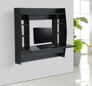 Furniture > See more Homcom Floating Wall Mount Office Computer Des