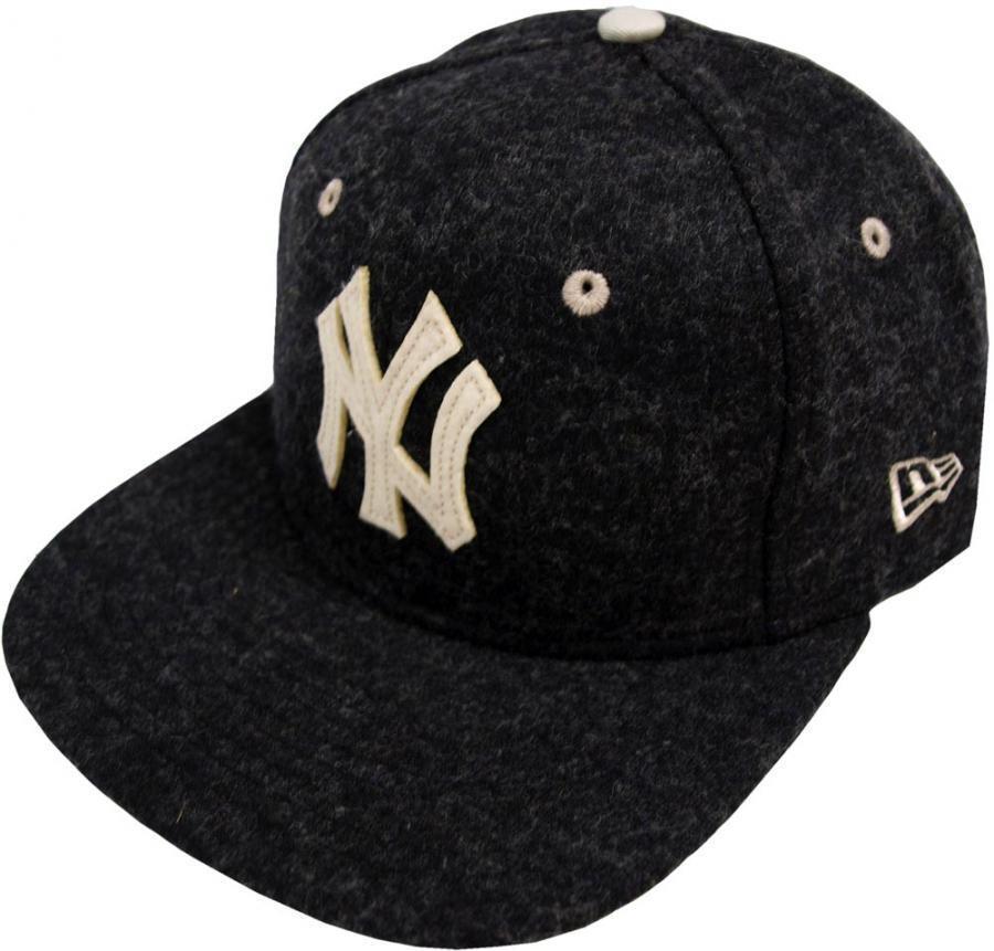New Era New York Yankees Felt 9fifty Wool Black Snapback Cap 9fifty Felt Basecaps New 778308