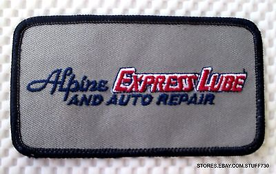 """NEW Jiffy Lube Patch 4-1//2/"""" X 2-1//2/"""" Red /& Black"""