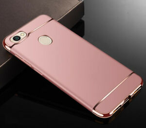 reputable site a4108 5daca Details about For Xiaomi Redmi Note 5A Prime Case Luxury Matte Electroplate  Hybrid Full Cover