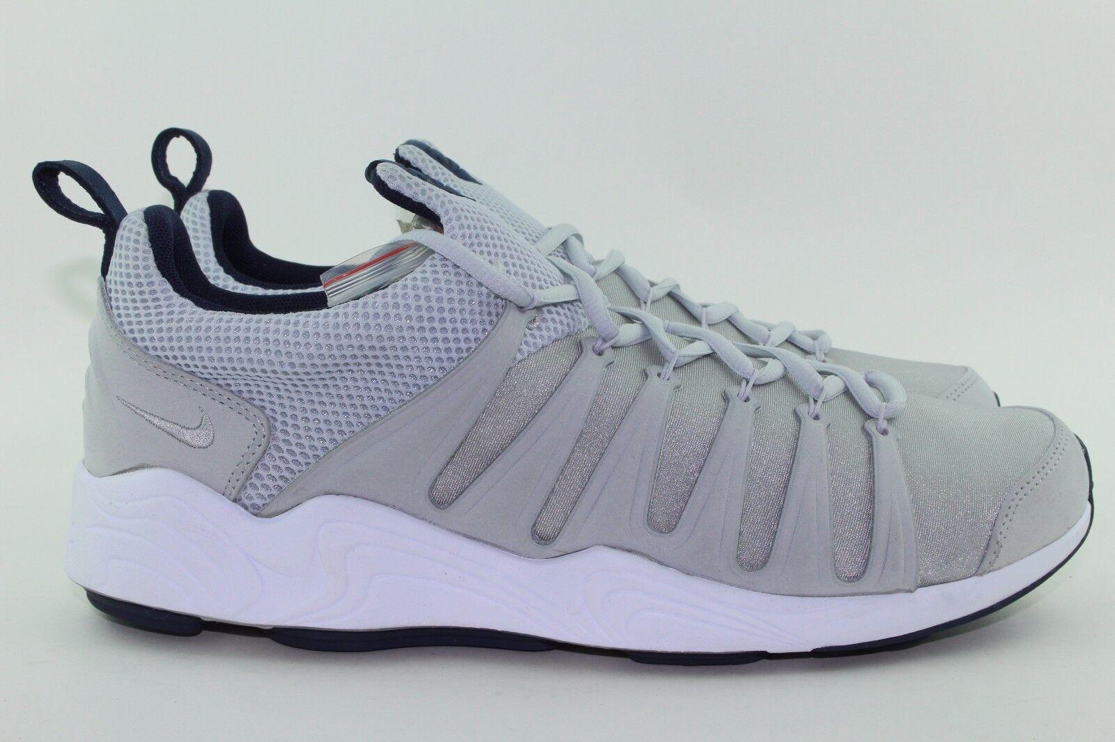 Nike laboratorio air 8,5 zoom spirimic uomini dimensioni 8,5 air platino nuova luce legale metallico raro 7f79bf
