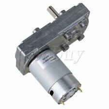 12v 66rpm No Load Speed High Torque Electric Square Gear Box Geared Motor