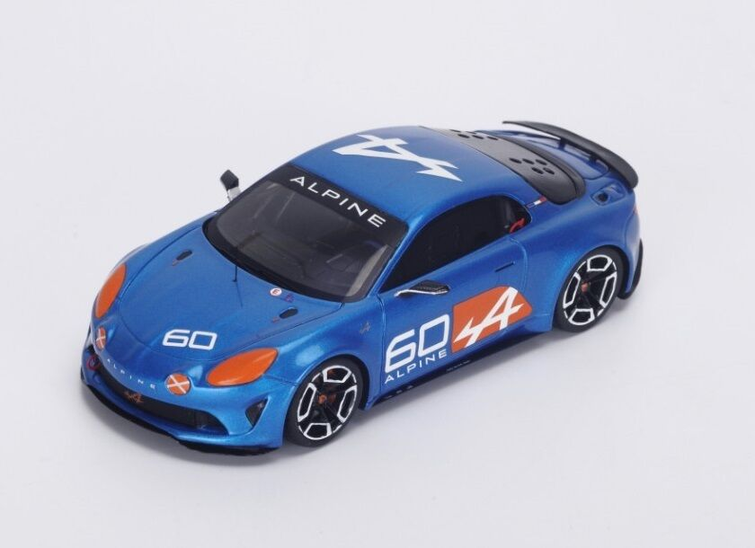 Renault Alpine A60 Celebration  bleu Metallic  2015 (Spark 1 43   S4947)