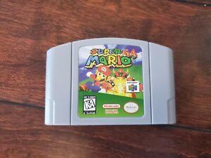 Nintendo-N64-Video-Game-Cartridge-Card-Super-Mario-64-NTSC-US-SELLER
