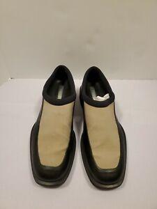 two3 cavvy jordan mens 135 black tan leather slipon