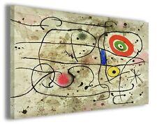 Quadri famosi Joan Mirò vol XVII Stampa su tela arredo moderno arte design
