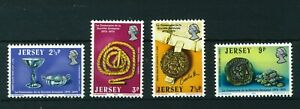 GB-Jersey-1973-La-Society-Jersiaise-full-set-of-stamps-MNH-Sg-85-88