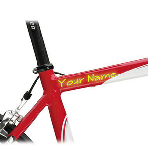 2-CUSTOM-BIKE-FRAME-STICKERS-DECAL-WITH-YOUR-TEXT
