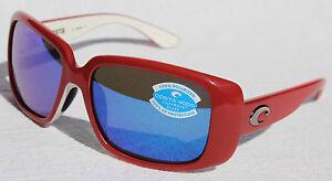 7f981f0b27e Image is loading COSTA-DEL-MAR-Little-Harbor-POLARIZED-Sunglasses-Coral-