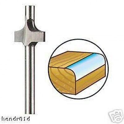 Dremel 615 9.5mm Corner Rounding Router Shaper Cutter Bit for Rotary Tools