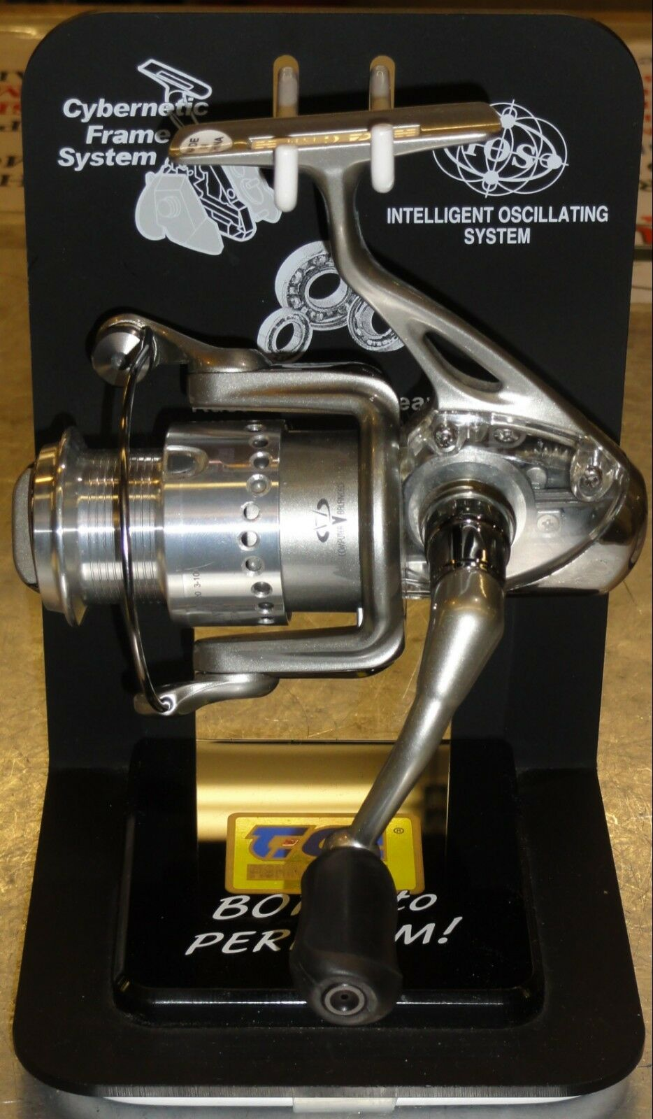 Tica Gainer GA2000 Spinning Reel w Transparent Body - New