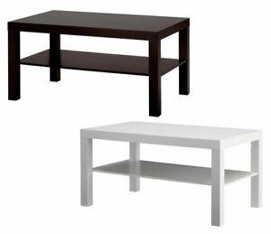Tavolini Da Salotto In Vetro Ikea.Dettagli Su Tavolino Da Salotto Moderno Legno Con Ripiano Ufficio Bianco Marrone Ikea Lack