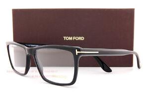 Brand New Tom Ford Eyeglass Frames 5407 001 Black Size