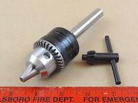 Genuine Jacobs 1/2 Capacity Drill Chuck 1/2 Diameter Shank Turret Lathe Tool