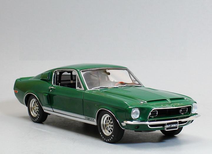 ACME 1 18 1968 Shelby GT350 Diecast Model Car Grün A1801809