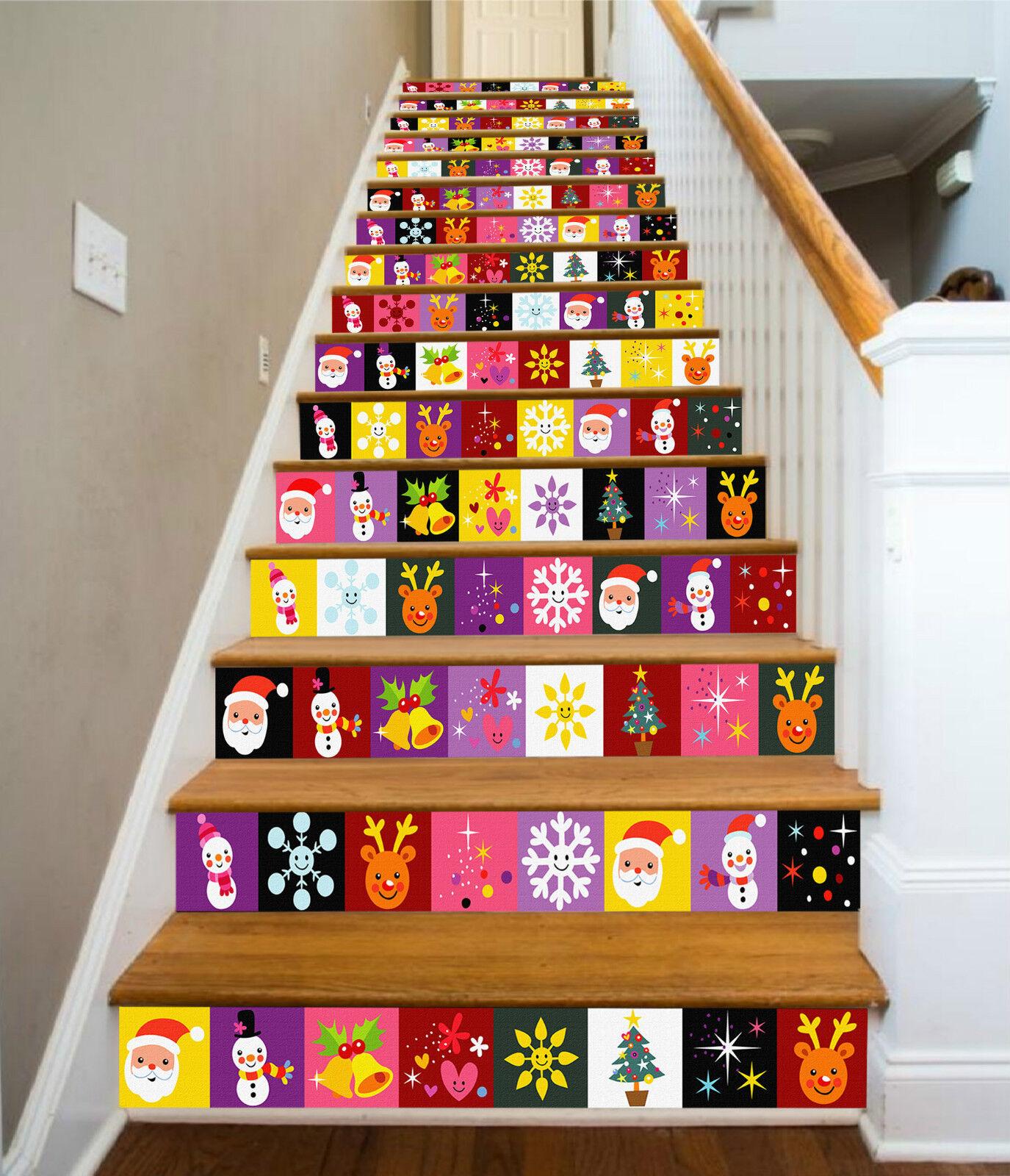 3D Karikatur 5 Stair Riser Dekoration Fototapete Vinyl Aufkleber Tapete DE Lemon