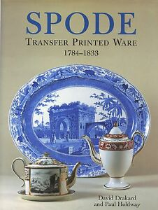 spode transfer printed china types patterns marks dates 900