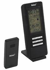 Mebus 40687 funkgesteuerte Wetterstation Funk-Wetterstation Hygrometer schwarz