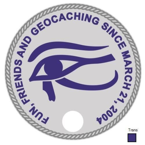 Friends and Geocaching Pathtag #30002-10 Years of Fun