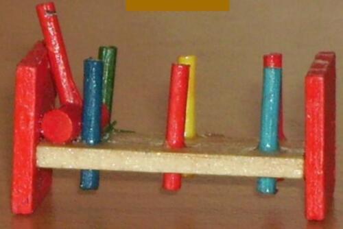 miniatura arderemos muñecas Tube//casa de muñecas #01# escala 1:12 Martillo de juego