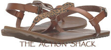 D902 • Volcom Maya T-Strap Sandals • NWT Womens Size 7 Cheetah • #27009
