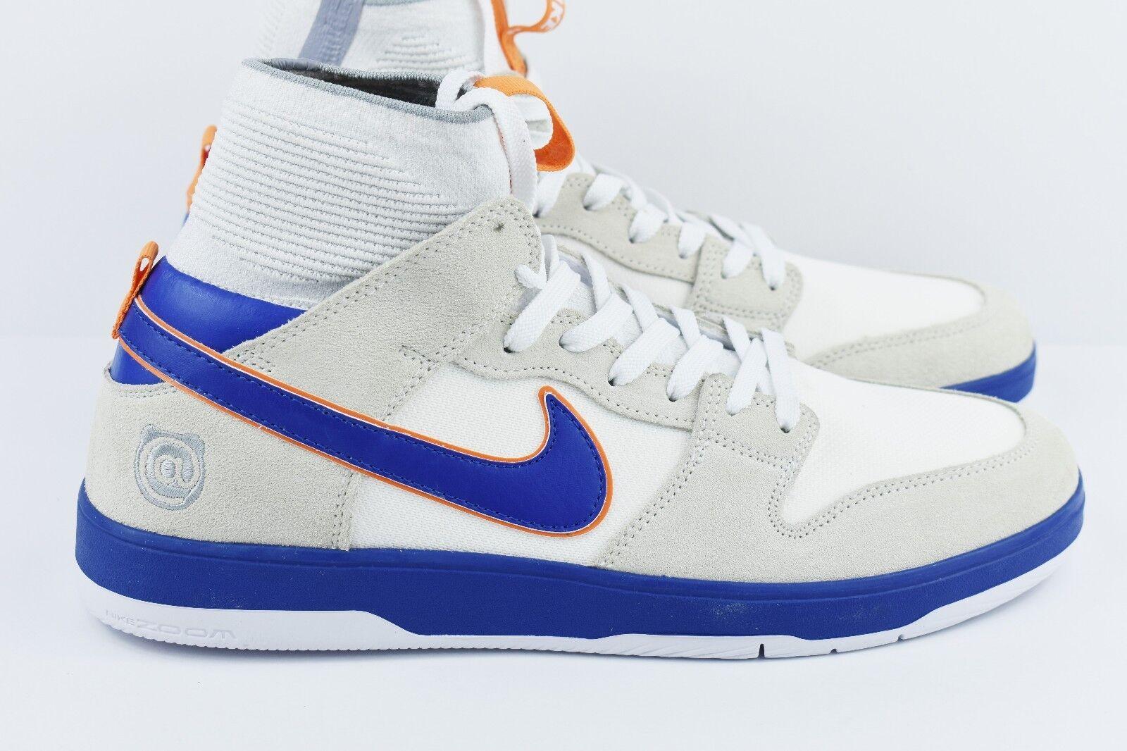 Nike sb medicom zoom canestro alto elt qs Uomo 10 taglia 10 Uomo scarpe 918287 147 bearbrick fa2ffb