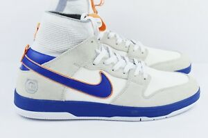 online store cdc9e df5c0 Nike SB Medicom Zoom Dunk High ELT QS Mens Size 13 Shoes 918287 147 ...