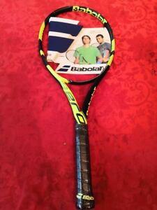New Babolat Pure Aero 100 Head Nadal 4 1 4 Grip Tennis Racquet Ebay